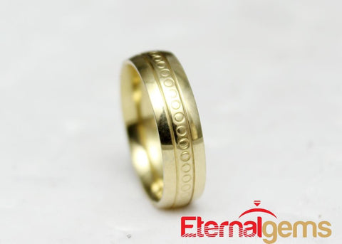 Gold plated ring for men on a budget