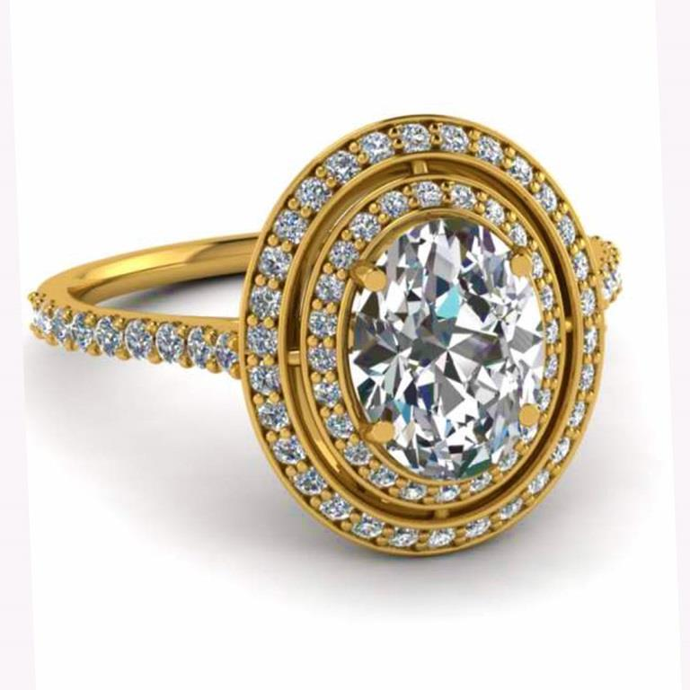 18 Carat Gold Proposal Rings -Eternal Gems