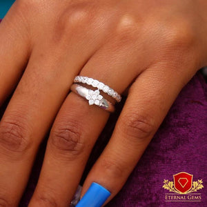 Sterling Silver Bridal Sets -Eternal Gems