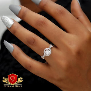 18 Carat Gold Proposal Ring -Eternal Gems