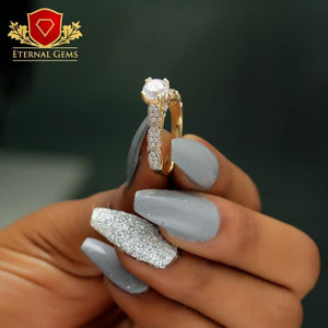 9 Carat Gold Proposal Ring -Eternal Gems