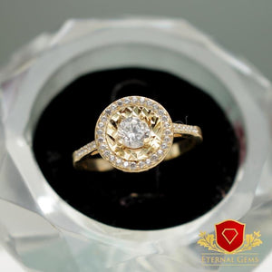 18 Carat Gold Proposal Rings