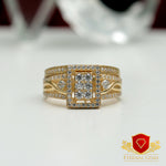 18 Carat Gold Bridal Ring - Eternal Gems