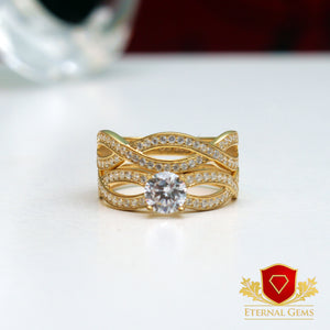 18 Carat Gold Bridal Ring - Eternal Gems | Lagos | Abuja