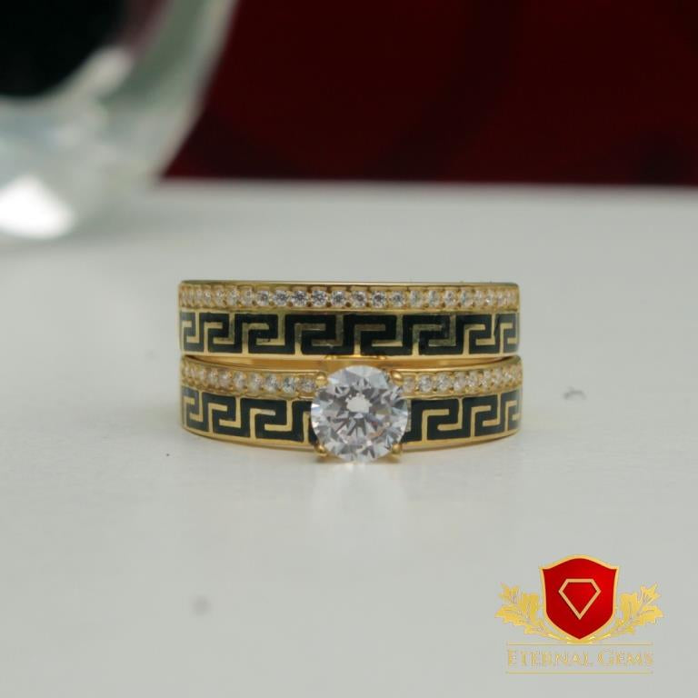 18 Carat Gold Bridal Set