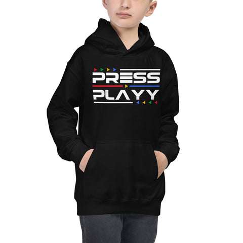 PLAYY YOUR WAYY Kids Hoodie (customize)
