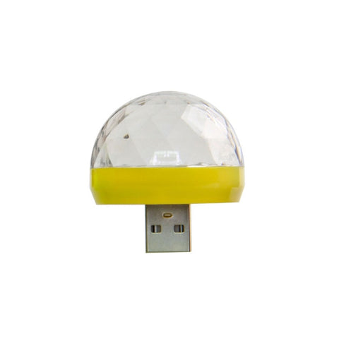 USB Portable LED Disco Light