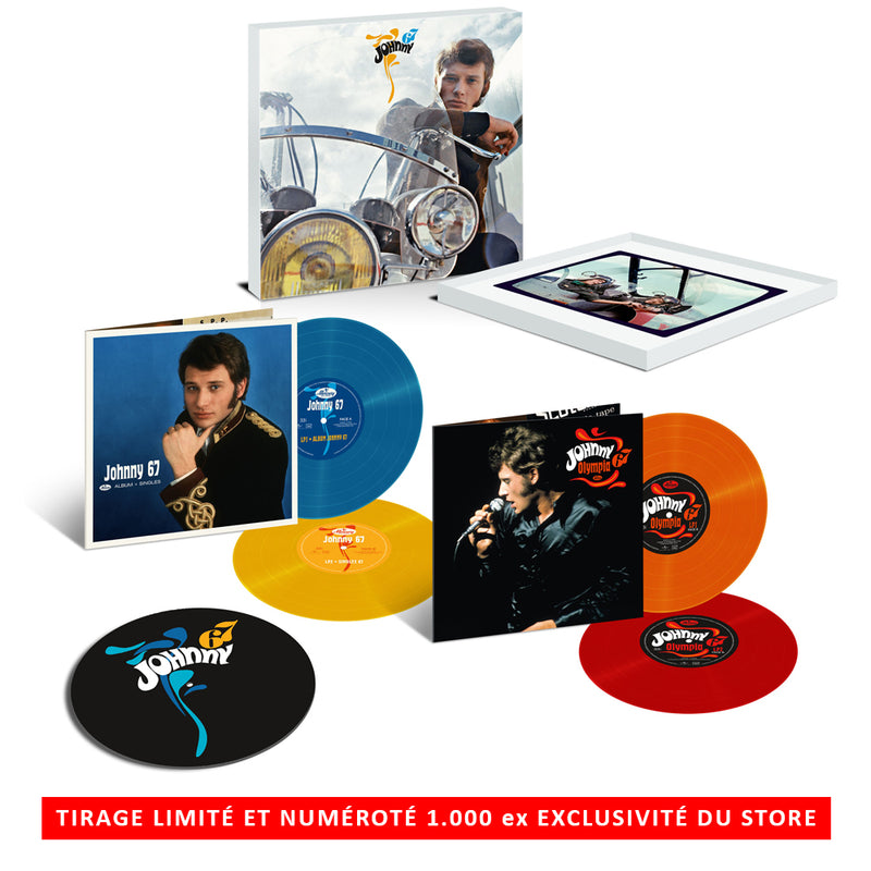 Coffret Deluxe vinyles couleur Johnny 67
