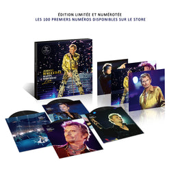 HAPPY BIRTHDAY LIVE | COFFRET 4 VINYLES - PARC DE SCEAUX 15.06.2000