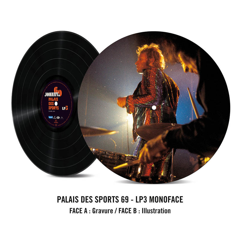 "JOHNNY 69 | TRIPLE VINYLE LIVE ""PALAIS DES SPORTS"" 26.04.1969"