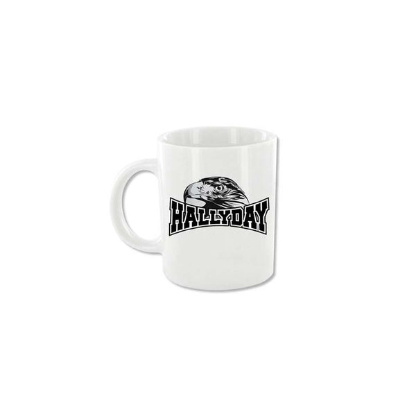 Mug Eagle noir - Johnny Hallyday