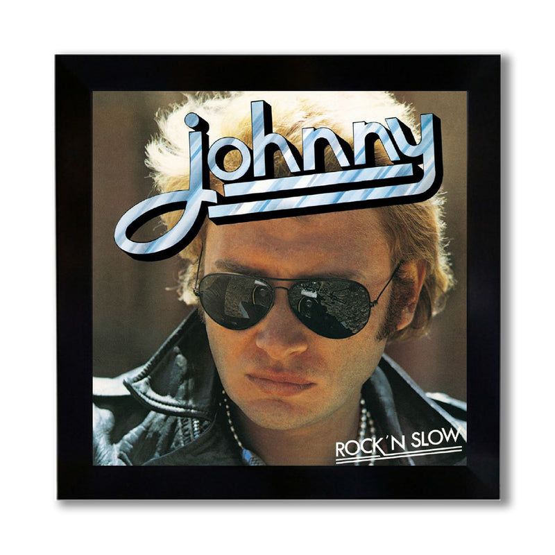 Photo encadrée Rock'n slow - Johnny Hallyday
