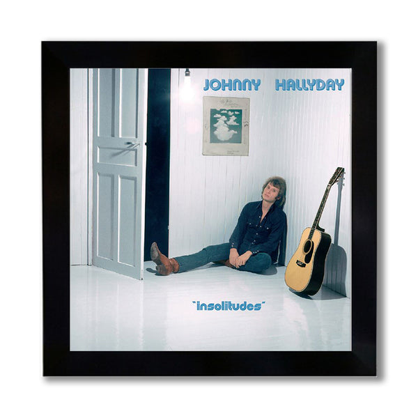 Photo encadrée Insolitudes - Johnny Hallyday