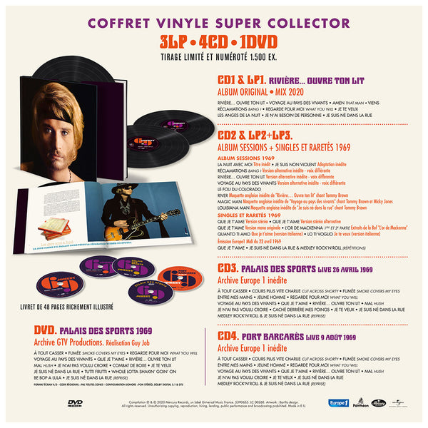 JOHNNY 69 | COFFRET VINYLE SUPER COLLECTOR