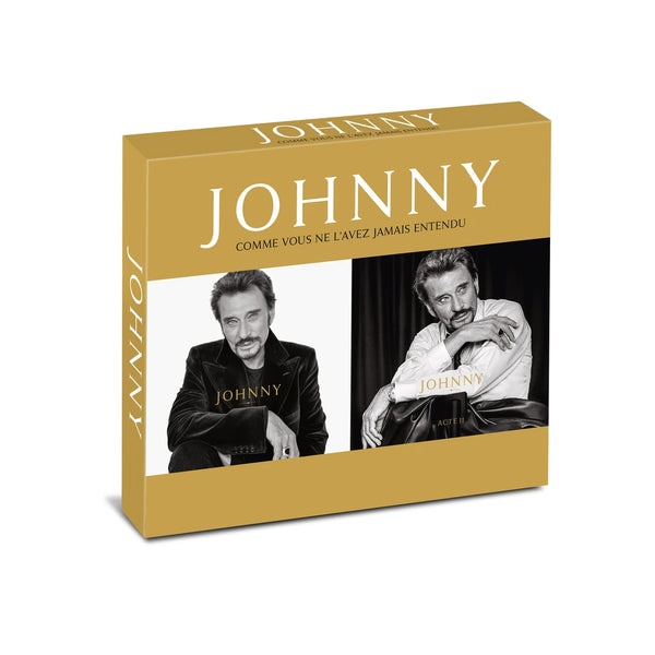 JOHNNY ACTE II - Fourreau 2CD