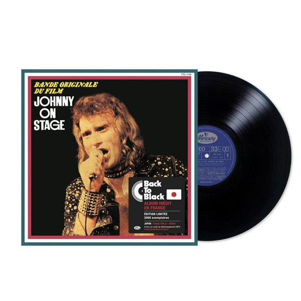 Johnny on stage - Vinyle