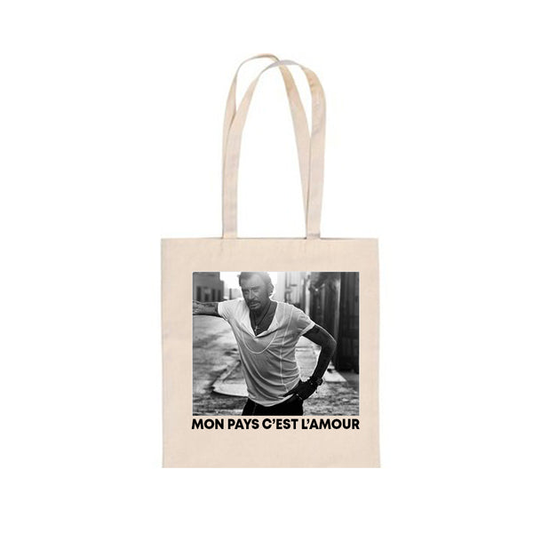 Totebag Nouvel album - Johnny Hallyday