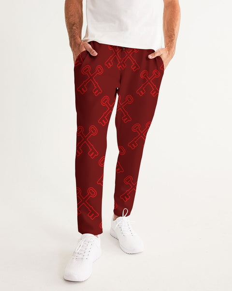 BURGANDY   Men's Joggers