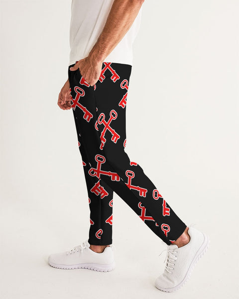 KEY PATTERN   Men's Joggers