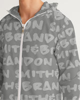 grey Men's Windbreaker