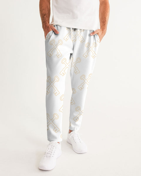 key white   Men's Joggers