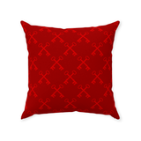 Suede 2 key Throw Pillows