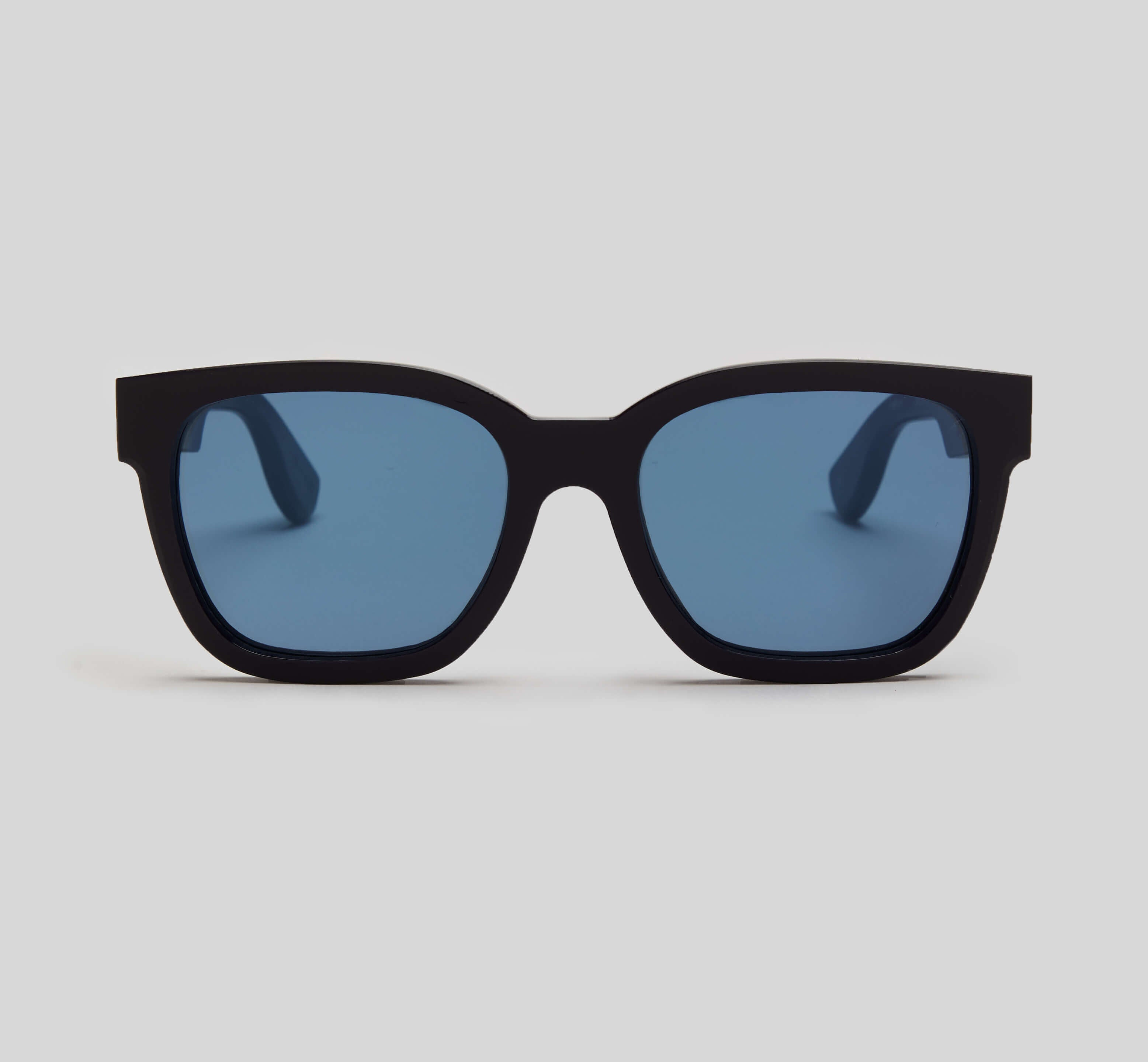 Navy square sunglasses eco friendly sustainable fashion made in Japan unisex sunglasses for men sunglasses for women and blue light filter