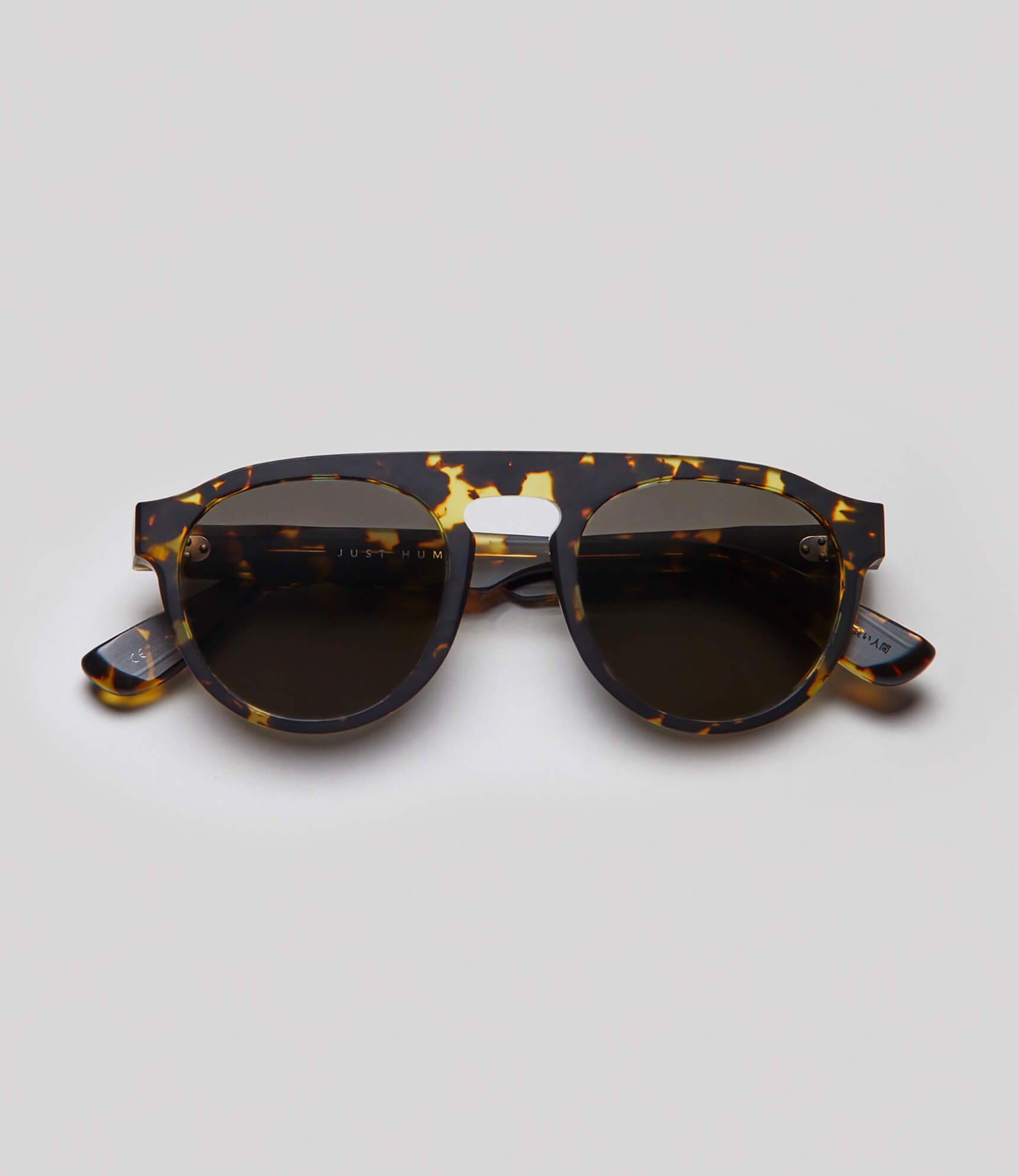 Tortoise aviator sunglasses eco friendly sustainable fashion made in Japan unisex sunglasses for men sunglasses for women and blue light filter