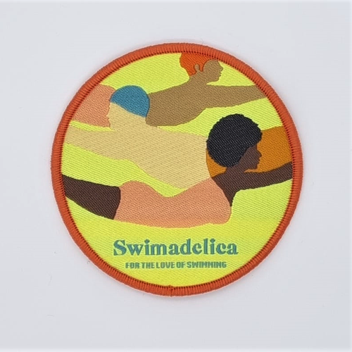 Swimadelica Embroidered Patches