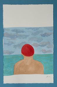 'Swimmer Series' 3 (Red Cap)