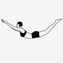 "Load image into Gallery viewer, ""Lunge"" Temporary Tattoo"