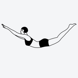 """Lunge"" Temporary Tattoo"