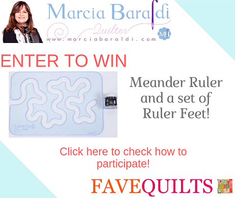 Meander Ruler Giveaway By FaveQuilts
