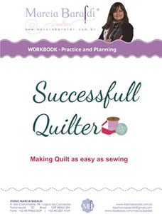 Digital Workbook Free-motion quilting -Practice and Planning