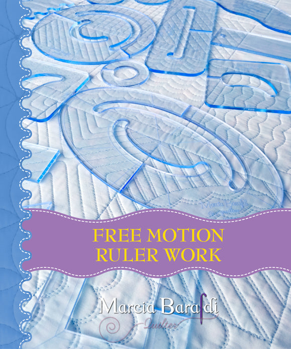Book Free Motion Ruler Work (PAPERBACK)