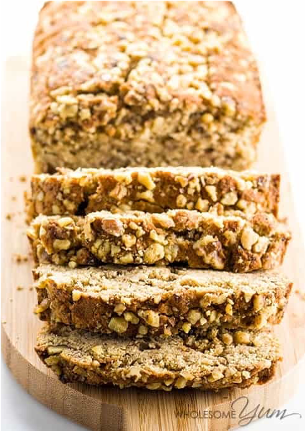 Low Carb Banana Bread