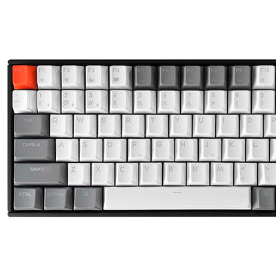 We just added Double-shot PBT Keycaps to the K2 Keyboard