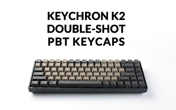 keychron K2 wireless mechanical keyboard Gateron brown switch double-shot PBT keycaps