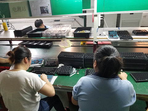 Keytron k1 keyboard production