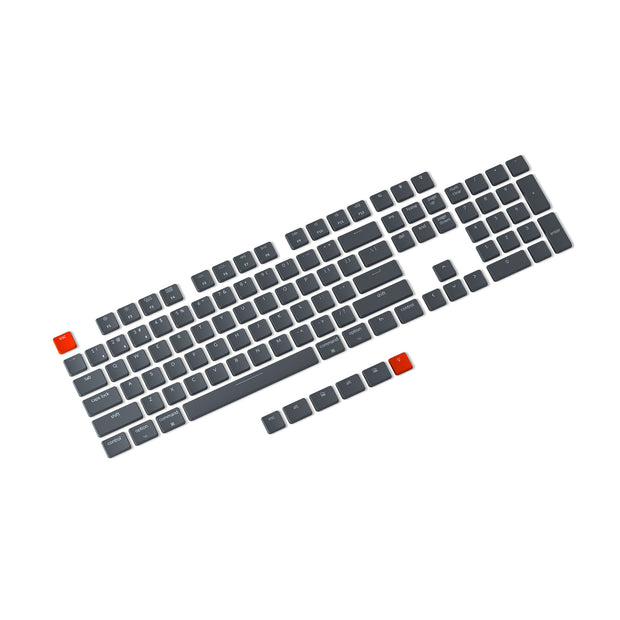 Keychron K1-v4 ultra-slim wireless mechanical keyboard keycap set 109 keys