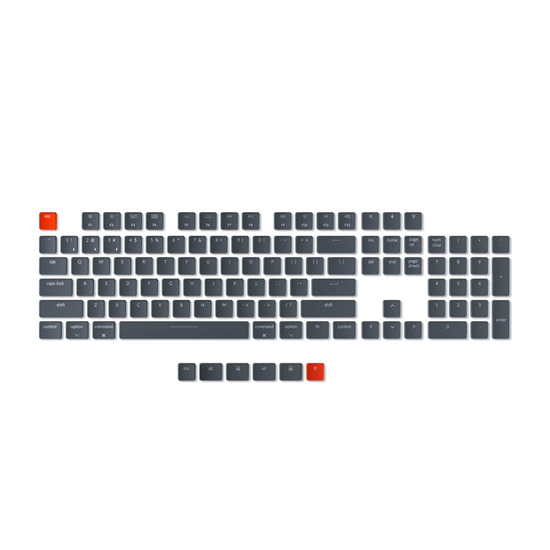 Keychron K1 version 4 ultra-slim wireless mechanical keyboard keycap set 109 keys