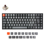 Keychron K2 Wireless Mechanical Keyboard German ISO DE QWERTZ Gateron brown switch RGB light white backlit