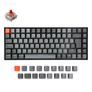 Keychron K2 Wireless Mechanical Keyboard German ISO DE QWERTZ Gateron red switch RGB light white backlit