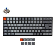 Keychron K2 Wireless Mechanical Keyboard (Nordic ISO Layout) - Keychron | Wireless Mechanical Keyboards for Mac Windows White Backlight RGB Backlit Gateron Mechanical blue Switch
