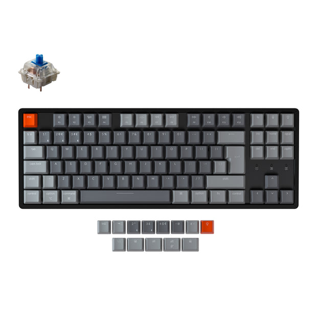 Keychron K8 Wireless Mechanical Keyboard (UK ISO Layout)