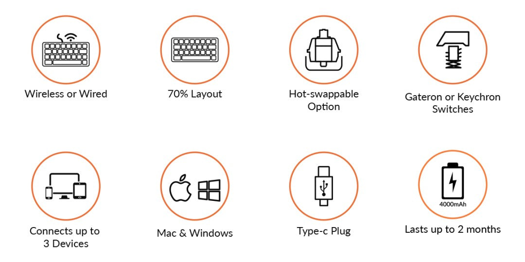 Features of Keychron K14