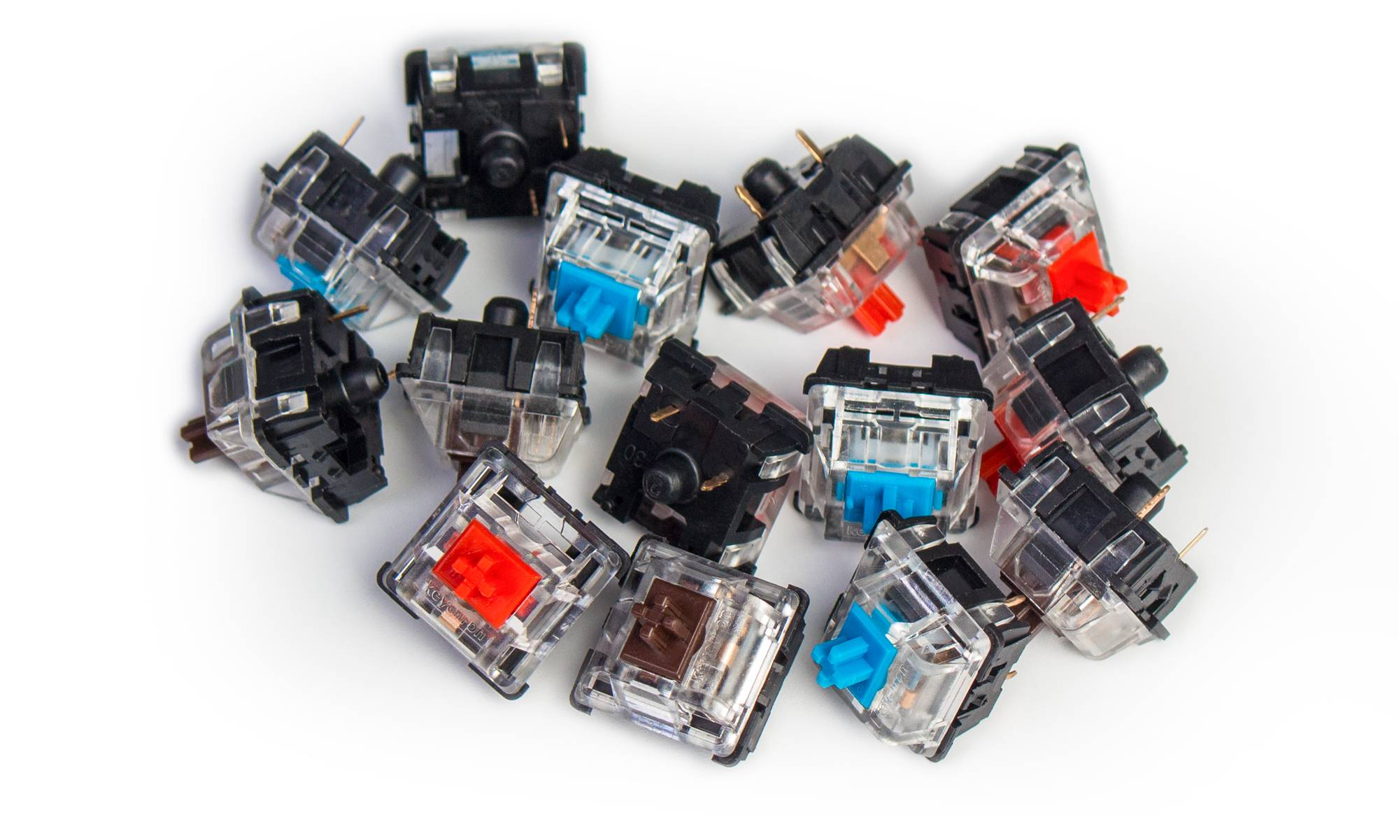 Keychron Mechanical Red Blue Brown Switch Set
