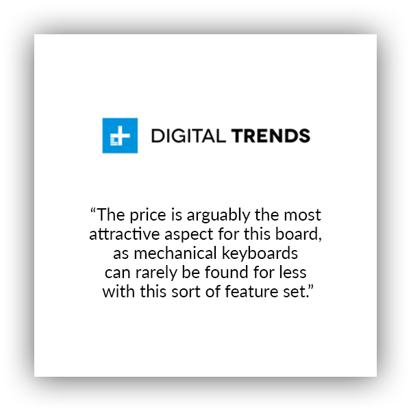 Keychron K1 ultra-slim wireless mechanical keyboard for Mac and windows covered by Digital Trends