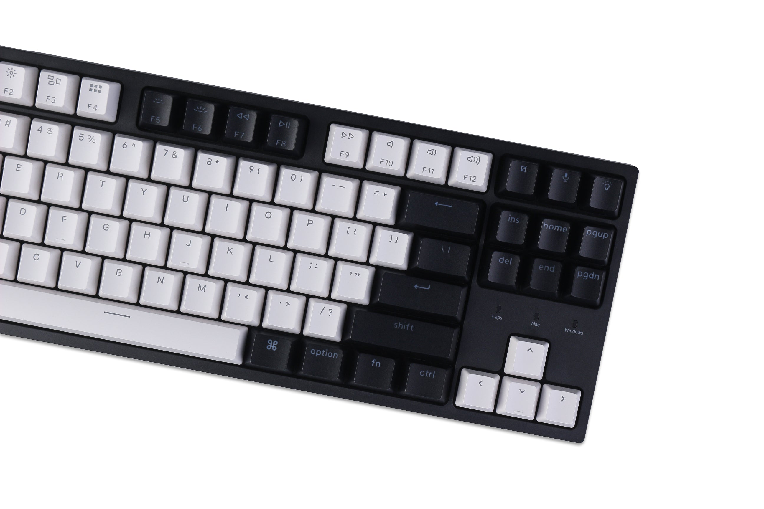 Keychron C1 hot-swappable wired type-c mechanical keyboard tenkeyless layout for Mac Windows iOS Gateron switch red blue brown RGB backlight