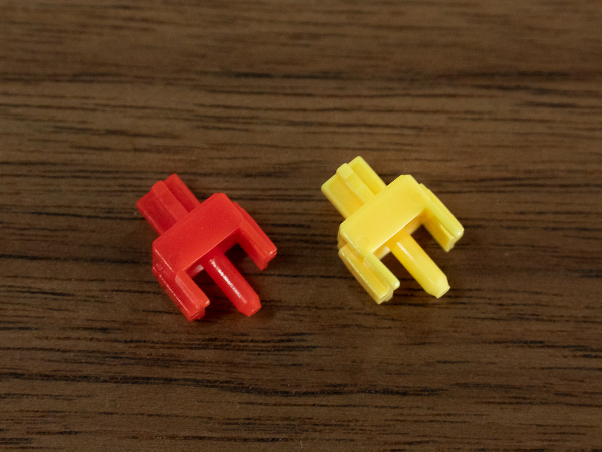 Gateron Yellow Switches and Red Switches